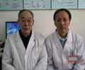 贾春宝博士与原空军总医院总内分泌主任李仕明教授合影